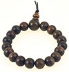 Energetically Enhanced Green Sandalwood Bracelet (Large Bead)